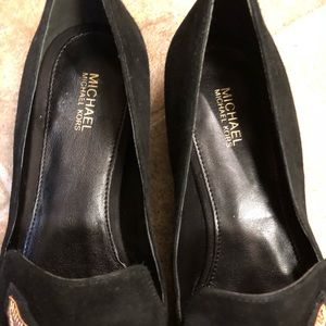 a6ac1c33c512 MICHAEL Michael Kors Shoes - michael kors natasha star applique black  loafers